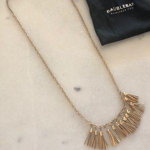 Baublebar gold necklace